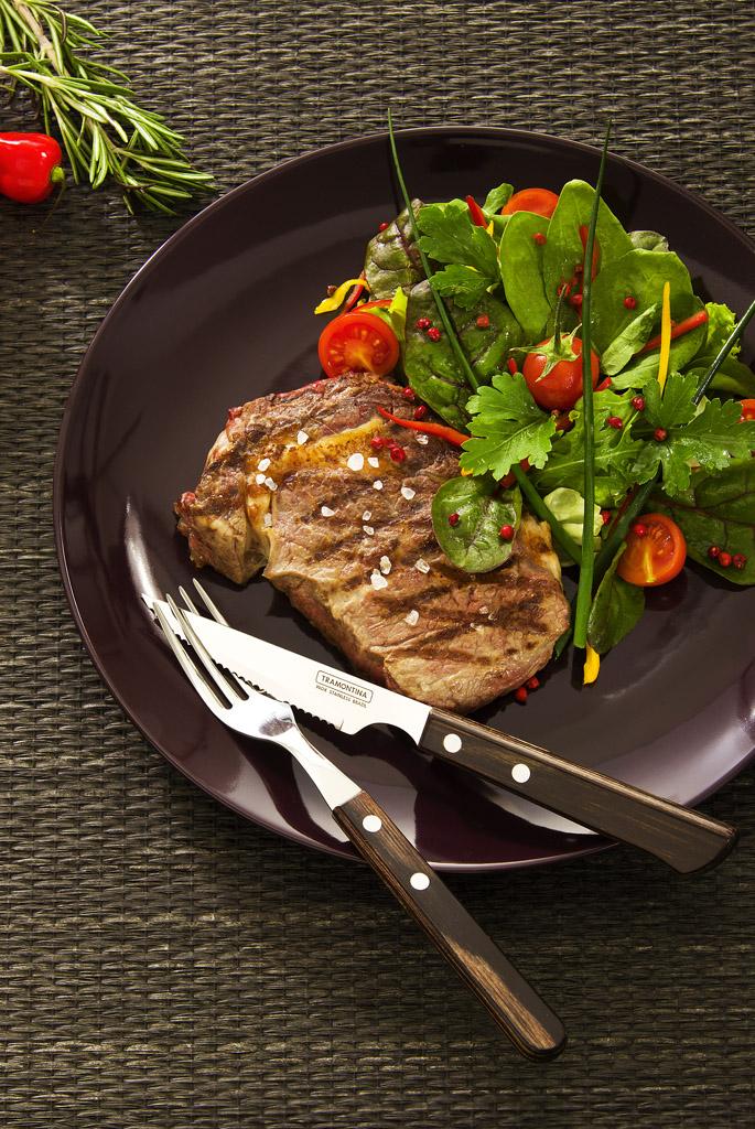 Steakbesteck - Kunde Tramontina - fotograf: holger puhl