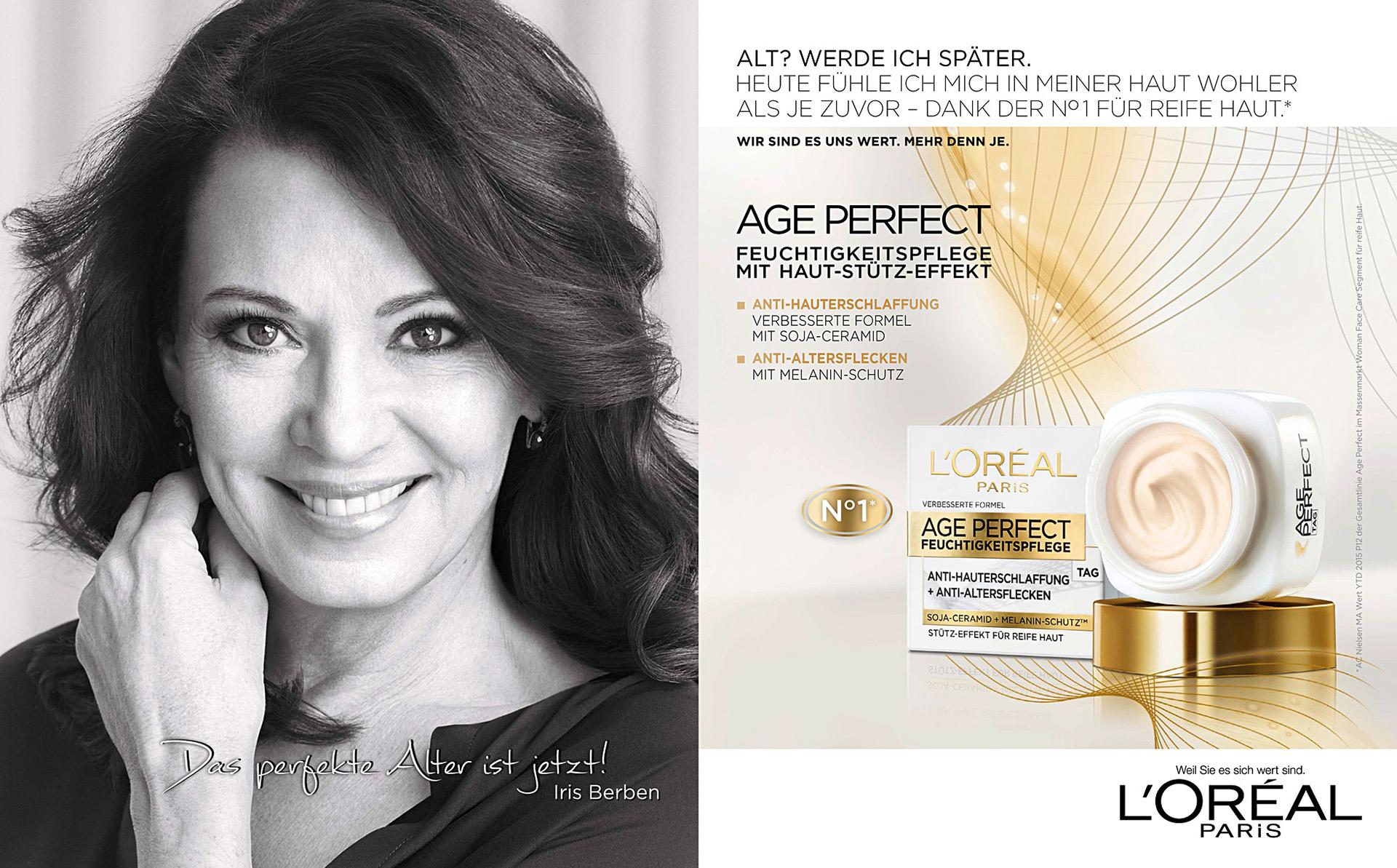 Loreal Paris Age Perfect Iris Berben - holger puhl