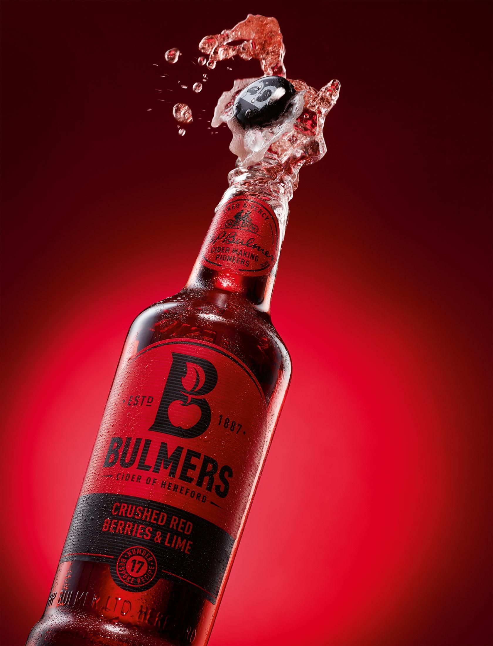bulmers / cider splash - fotograf: holger puhl