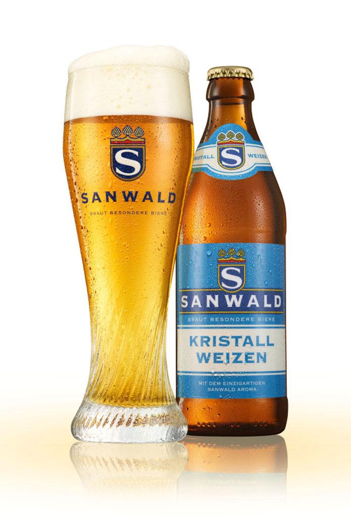 Sanwald Weizenbier, Dinckelacker Fotograf: Holger Puhl