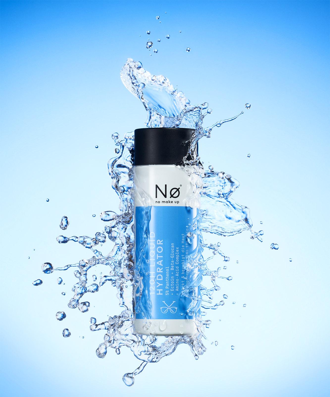 no cosmetics Liquid Hydrator SPLASH - Fotograf Holger Puhl